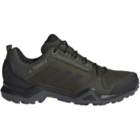 adidas TERREX AX3 Gore-Tex Hiking Shoes Waterproof Men night cargo/core black/raw khaki